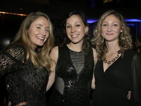 From left: Kaitlyn Reardon of Boston, Stephanie Heikila of South Carolina, and Heather Brigham of Quincy.